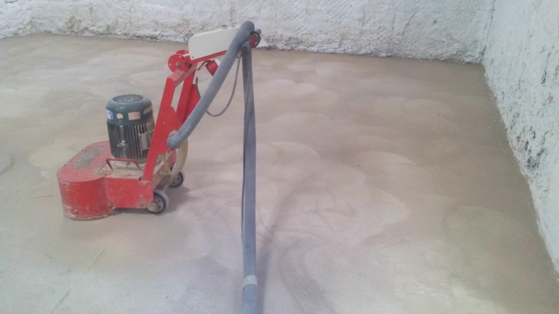 Шлифовка бетонного пола своими руками Строительный 41